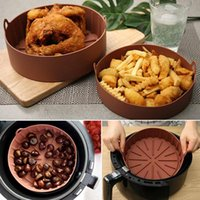 Mats & Pads Air Fryer Silicone Pot Multifunctional Reusable Liner Heat Resistant Oven Accessories For Home Kitchen Baking EST