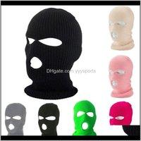 Sombrero cubierta de invierno máscara de neón máscara verde Halloween gorras para fiesta Motocicleta Bicicleta Ski Ciclismo Balaclava Pink Máscaras Yoy0l 1HQAI