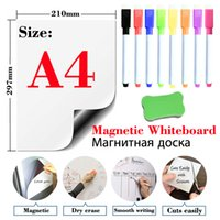Magnetic soft whiteboard refrigerator sticker erasable memo message board office teaching practice writing boards door stickers