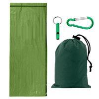 Sleeping Bags Outdoor Camping Tent Storage Bag Trekking Survival Carabiner Emergency Whistle PE Compression Sack Waterproof Travel Sundries