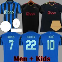 HALLER 21 22 3rd black blue away amsterdam soccer jerseys bl...
