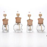 Автомобильная парфюмерная бутылка для эфирных масел Освежитель воздуха Ароматизаторы Воздушные вентиляционные отверстия Пустые стеклянные бутылки DHF6354