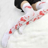 Socks & Hosiery Halloween Costume For Women Party Bloody Cosplay Clothing Masquerade Stockings Zombie Blood Hallow I3m2