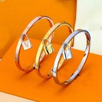 أزياء الذهب والفضة روز خزانة الإسورة للرجال والنساء عشاق الزفاف هدية مجوهرات مع مربع