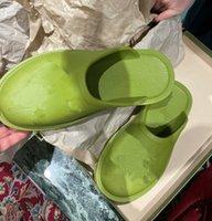 2021 디자이너 젤리 여성의 chunky 발 뒤꿈치 샌들 슬리퍼, 유행, 섹시하고 사랑스러운, 맑은 해변 여자 신발 슬리퍼