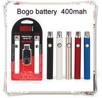 2021 Bogo 400MAH Vape Twist Curse с USB-зарядным устройством Двойной комплект Аккумуляторы для картриджа для 510 картриджей Pen VS Cookies
