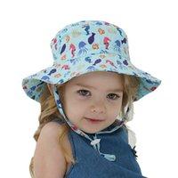 Дети 'Sunblock Детская шляпа Весна Лето Солнцезащитная Шапочка Мальчики и Девушки Детские Дышащие кепки Пляж Головной убор Q36