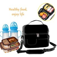Storage Bags 8L Insulated Lunch Bag Box For Women Men Thermal Cooler Tote Picnic Breastmilk Insulation 2