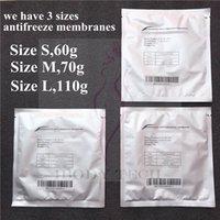 2021 Varış Cryo Pad ETG Anti Freeze Cryolipolysis Antifriz Membran Donma Yağ Makinesi Vücut Zayıflama için