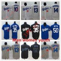 20 21 Los All-Star 게임 야구 유니폼 망원 어린이 청소년 35 Cody Bellinger Jersey 50 Mookie Betts Dodgers