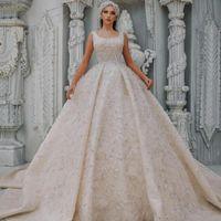 Elegant A Line Wedding Dresses Scoop Neck Beaded Vintage Bridal Gowns Arabic Dubai Sequined Plus Size vestido de novia