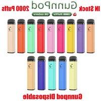 Gunnpod Bolds Dispositivo di bottoni monouso Cartuccia Premilled E-sigarettes 1250mAh Batteria 8ML 2000 Puff Bold Bang Pen VS Stick Bar XXL Air K KNTT