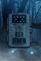 야외 사냥 카메라 적외선 야간 투시경 2 천만 픽셀 IP66 방수 작동 -30 ~ 70도 섭씨 USB 포트 TF 카드 홀더