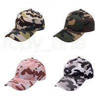 Camuflagem chapéu de beisebol chapéu ao ar livre esporte lavado bola tampas moda sunscreen festivo festivo chapéus suprimentos 4styles rra4260