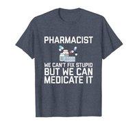 Farmacêutico não pode fixar estúpido t-shirt presente de farmácia