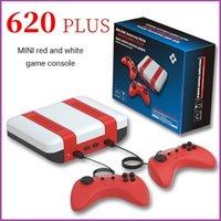 Game Controllers & Joysticks Red White Mini Console Retro Double Person 8 Bit FC TV Built In 620 For NES wholesale price