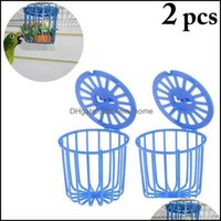 Home & Garden2Pcs Creative Mti-Purpose Cage Hanging Toys Bird Fruit Vegetable Feeder Basket Parrot Pet Feeding Supplies Cages Drop Delivery