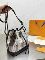 ESALE TIE-DYE NEO 양동이 숄더백 지갑 파스텔 DRAINSTRING 디자이너 WOMENS 용 버킷 가방 핸드백 Presboyopic Hobo Noe 44022