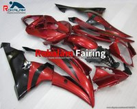 Red Black Fairings For Yamaha YZF-R6 YZF R6 2013 2014 2015 2016 08-16 YZF600 R6 YZF 600 R6 2008-2016 Aftermarket Hull (Injection Molding)