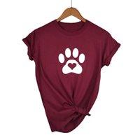 Women's T-Shirt LOVE HEART CAT Print Women Tshirt Cotton Casual Funny T Shirt For Lady Girl Top Tee Hipster Tumblr Drop Ship