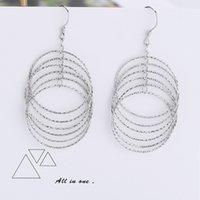 New 925 Silver Hoop Earrings, Mix style, Heart Earring, Women'S, Glamour Jewelry, Wedding Gifts