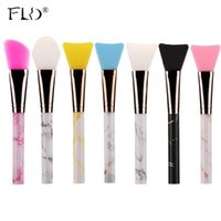 Makeup Brushes FLD Silicone Facial Mask Apply Evenly Cleaner Face Marble Single Brush Beauty Cosmetics Tools Maquillaje