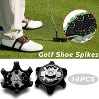 Golf Training Aids 14pcs lot Spikes Pins Turn Fast Twist Shoe Durable Thin Cleats Shoes Parts Set Replacement Ultra O6d8