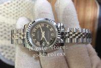 Homens relógios de pulso 26mm Ladys Automatic Woman's Watch's Movimento Preto Roma 179174 Data Data Jubileu Pulseira Mulheres Sapphire