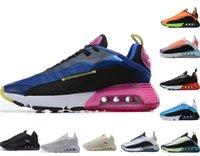 Maschio femmina 2090 scarpe da corsa triple nero arancione di alta qualità 2090s Sneakers designer classico casual formatori taglia 40-46 per uomo donna