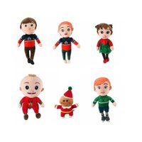 Christmas Design Cocomelon JOJO Plush Toy Doll Cocomelons Family Stuffed Toys Boys Girls Brithday Gifts Xmas Party Decoration G101GXYI