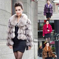 ETHEL ANDERSON 100% Genuine Real Fur Jackets & Coats With Collar For Luxury Vintage Ladies Short Outerwear 210909