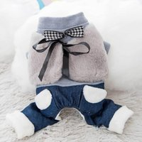 Bow Coat Dog Clothes Jumpsuits Super For Dogs Clothing Pet Small Outfits Cute Canis Lupus Familiaris Winter Pink Girl Mascotas Apparel