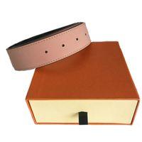 Ремни для мужского пояса Повседневная Мода Бизнес Кожа Женщины Женская Большая Золотая Серебряная Черная Пряжка с коробкой