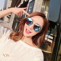 Luxo com óculos de sol Proteção do desenhador Rebites quadrados para as mulheres do AWG Moldura UV do vintage UV Top Quality VENHA UTCH