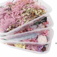 1 коробка реальные высушенные цветочные сухие растения для ароматерапии свеча эпоксидная смола кулон ожерелье ювелирные изделия изготовления ремесла DIY аксессуары HWD7383