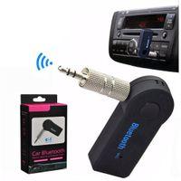 عالمي 3.5 ملليمتر بلوتوث سيارة كيت السيارات استقبال A2DP الصوت محول الموسيقى يدوي مع مايكروفون للهاتف PSP سماعات الكمبيوتر اللوحي
