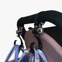 Stroller Parts & Accessories 2pcs Baby Hanger Bag Hooks Pram Rotate 360 Degree Car Seat Organizer Double