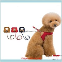 Collars Leashes Supplies Home & Garden1Pcs Pet Cat Harness Soft Mesh Breathable Dog Leads Secure Traction Rope Puppy Chihuahua Teddy Walking