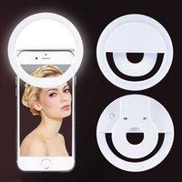 36 LED Portable Lighting Night Flash Camera Clip-on Mobile Phone Selfie Ring Light Video Usb Charging