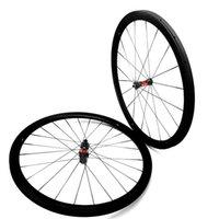 دراجة عجلات الكربون الطريق 700C 38x25mm الفاصلة DT240S 100x15 142x12 القرص 36T 54T Wheelset Sapim CX Ray المتحدث