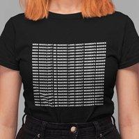 Pudo XSX الرجال لا ينبغي أن يكون المرأة القمصان صنع القوانين حول الهيئات شعار قميص الإنسان حق المحملة النسائية