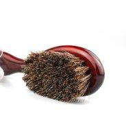 الحلاق المهنية الرجال الخنزير الطبيعي bristle اللحية فرشاة اللحية تنظيف الأجهزة الماعز فرشاة الشعر النفط رئيس الرقبة الاجتياح ha jllojl