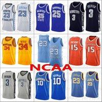 NCAA Koleji Ligi Basketbol Formaları 34 Önyargılı 4 Webber 20 Payton 15 Carter 33 Kuş 33 Oneal 23 Michael 10 Rodman 15 Anthony 3 Iverson 25 Individge Erkekler Jersey