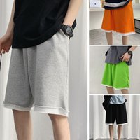 Loose Casual Sweat Shorts Summer Men For Male Running Pants Harajuku Board Pocket Half Jogger Sweatshorts Men's