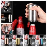5 colores Acero inoxidable abridores de botellas de cerveza Abres de botellas Automáticas Botella de vino Botella de abrigo Barra de cocina Herramientas Accesorios RRD6888