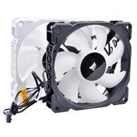 Coolings aux fans CW8960065, RWF0041, 31-005994 31-006669 12cm 120mm 120x120x25mm DC12V 0.225A 4Pin H150i RVB Ventilateur de refroidissement pour l'eau