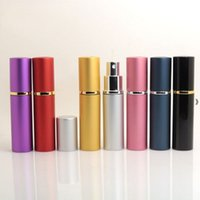 10ml Mini Spray Perfume Bottle Travel Empty Cosmetic Container of toner, Pure Dew, Atomizer Refillable Bottles HHB7148