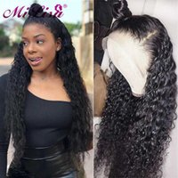 Lace Wigs 13x4 Water Wave Frontal Wig 30 Inch Natual Human Hair For Black Women Pre Plucked Brazilian