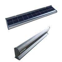 5W 10W 20W All In One Aluminum Solar Billboard Light 30CM 60CM 120CM Integrated Solar Tube for Outdoor Advertising Signboard