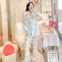 모유 수유 월 여름 패션 잠옷 산후 Pajamas 면화 모달 가정 출산 슈트